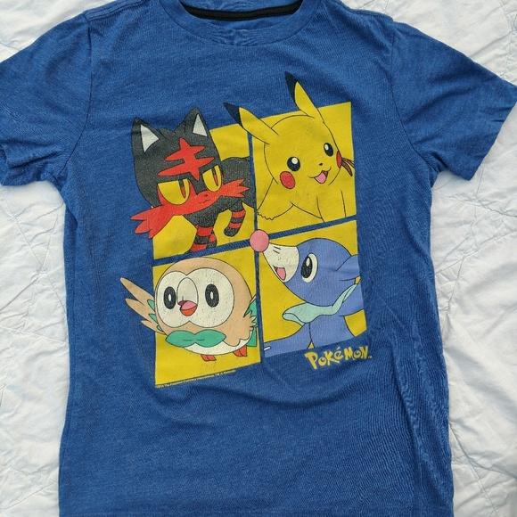 4dcba172 Old Navy Shirts & Tops | Blue Pokemon Tshirt | Poshmark